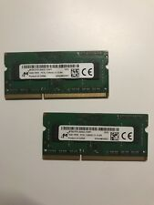 Micron 8GB Kit (2x4GB) DDR3L 1600MHz PC3L-12800S SODIMM Laptop Memory RAM