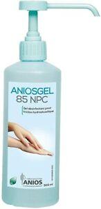 Gel lavage des mains  Aniosgel  format 500ml avec pompe