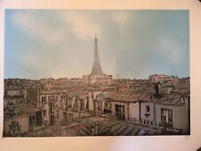 "Nick Walker ""TMA PARIS"" sold out limited edition mint screen print with COA"