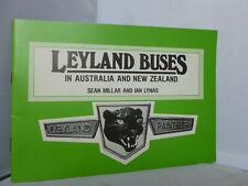 Leyland Buses in Australia and New Zealand by Sean Millar & Ian Lynas 1983 Illus