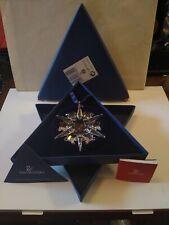 2002 Swarovski Snowflake Annual Ornament Complete - Pre-Owned