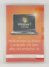 Microsoft Windows 7 Ultimate 32 Bit SP1 System Builder Vollversion Deutsch