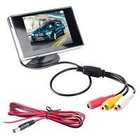 PAL/NTSC 3.5 inch HD Adjustable TFT LCD Monitor For CCTV Camera Security