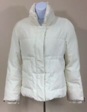Women's BCBG Max Azria Down Filled Puffer Jacket Coat Ivory Size XS