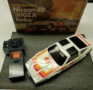 RadioShack Nissan 49 300ZX Turbo RC Car *see description