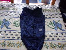 Justaucorps bleu marine sans manche taille 16 ans ou S en bon état marque 99
