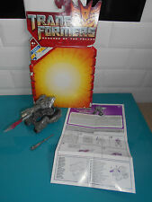 16.11.13.18 Transformers movie figurine cannon blast megatron hasbro 2008 ROTF