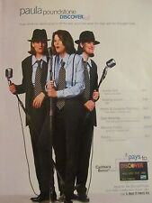 Paula Poundstone, Discover Card, Full Page Print Ad