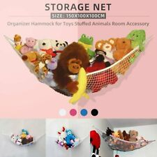 Jumbo Toy Hammock Hanging Corner Storage Net Kids Gift Stuffed Animals Organizer