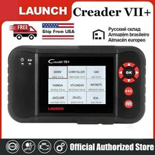 LAUNCH X431 Creader VII+ Car OBD2 Diagnostic Scanner Code Reader Engine ABS SRS
