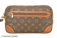 Louis Vuitton Monogram Marly Dragonne GM Clutch Bag M51825 - YF00659
