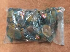 TY Beanie Baby Claude, 1 Dozen Wholesale Lot, NEW, PE Pellets, Indonesia, MWMT