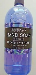 ESSENZA BLENDS~ Lavender Hand Soap Refill With Pure Essential Oils~ 33.8oz size