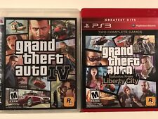 Grand Theft Auto IV & Episodes From Liberty City (Greatest Hits) Bundle - Tested