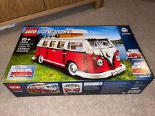 Lego Creator Expert Volkswagen T1 Camper Van (10220) Retired Set.
