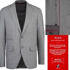 Tumi Men's Classic Travel Blazer Packable Wrinkle Free Wool Blend RFID Security