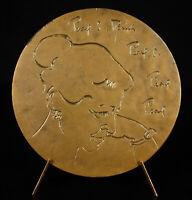 Medal Pearl Sydenstricker Buck USA Writer Influance USA/China Inspiration