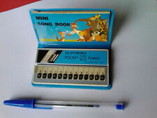 ELECTRON ECHO MINI PIANO MINI SONG BOOK VINTAGE