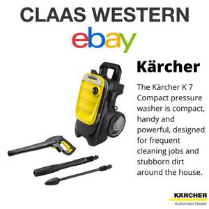 KARCHER K7 COMPACT PRESSURE WASHER (1.447-051.0)