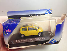 Solido 1:43 ToDay RENAULT TWINGO DECOURVRABLE CONVERTIBLE YELLOW EXTREMELY RARE