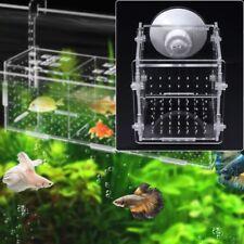 Aquarium Fish Breeding Isolation Box Fish Tank Incubator Breeder For Baby Fish