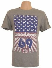 Woodstock T-Shirt Mens Medium Grey 69