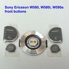 Genuine Sony Ericsson W580 W580i W580a Front Button Fascia Housing - Dark Grey