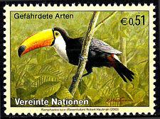 Uno Vereinte Nationen postfrisch Riesentukan Tukan Spechtvogel Vogel Tier / 229