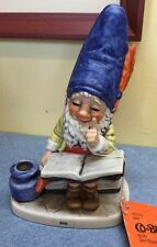 Goebel Gnomes Co-Boy Bob The Bookworm Book Ink Well Collectible