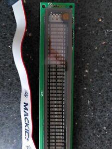 Mackie D8B Digital Display Units -db meter and text display