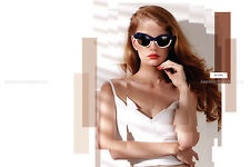 Preen by Thornton Bregazzi Beatrix Cat-eye Two-tone Acetate sunglasses, RRP $250