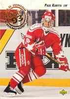 1992-93 Upper Deck World Junior Championships Paul Kariya #586