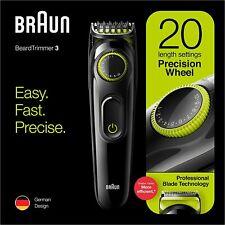 Braun BT3221 Bart Trimmer und Haare Knipser für Herren Lebenslange Sharp Klingen