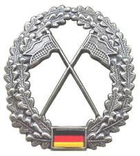 - HEERAUFKLÄRER | BW Metall - Barett Abzeichen Bundeswehr Barettabzeichen