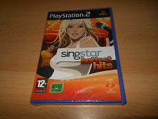 SingStar Hottest Hits PS2 NEW SEALED  uk pal version
