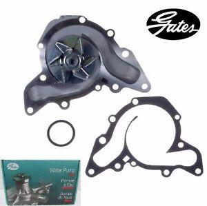 GATES Engine Water Pump for Mitsubishi Montero Sport V6; 3.0L 1997-1998