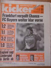 KICKER 29 - 7.4. 1994 Gladbach-Bayern 2:0 KSC-Dresden 1:0 Bremen-Freiburg 3:2