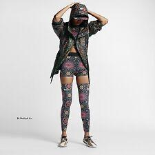 "Nike NikeLab x Riccardo Tisci Women's 2.5"" Training Shorts S Black Multi Gym New"