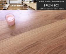 12mm Brush Box Laminate Flooring Floating Timber  Floor boards Click DIY