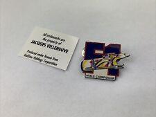 Formel1 Jacques Villeneuve World Championship Pin Anstecker