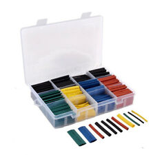 Waterproof 530pc Heat Shrink Cable Sleeve Wrap Car Wire Terminals Tubing Box Kit