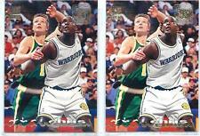 CHRIS WEBBER (Lot of 2) 1993-94 93-94 Stadium Club #224 Golden State Warriors