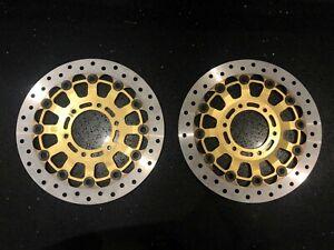 Brembo disc rotors Ducati 996 RS 996RS code 08670317 Superbike 80 mm Inner hub