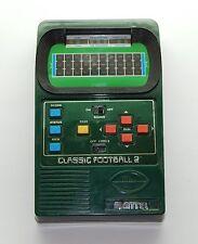 CLASSIC FOOTBALL 2 MATTEL Football Handheld Video Game WORKS RARE Green 2002