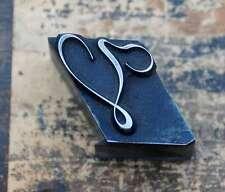 V  Initial Bleibuchstabe Stempel Siegel Buchstabenstempel Buchstabe Bleiletter