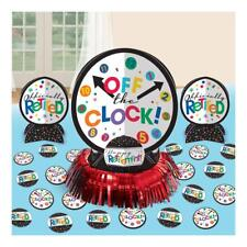 Happy Retirement Table Decorating Kit Off The Clock Party Decoration - 281552