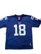 Reebok NFL Equipment #18 Peyton Manning Indianapolis Colts Jersey Youth XL