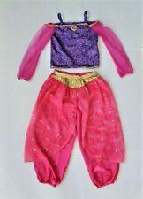 Disney Store Aladdin Princess Jasmine 2pc Dress Up Costume Size 6 6X Pink Purple