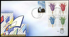 Netherlands 2000 Bulk Mail Stamps, Tulips, Flowers FDC First Day Cover #C28122