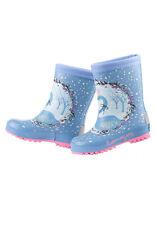MaxiMo Gummistiefel Regenstiefel Gefüttert Winter Kinder Mädchen Blau Gr.23-36